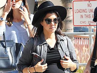 Kourtney Kardashian's Fashion-Forward Bump Style