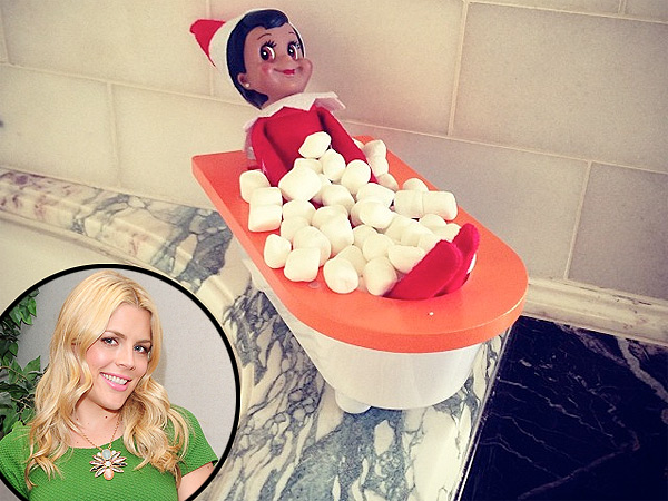 Busy Philipps Elf on the Shelf: Instagram