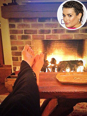 Lea Michele Takes Time to 'Recharge, Relax'