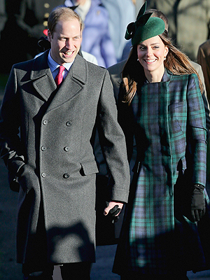 Kate and William Attend Christmas Services with Queen