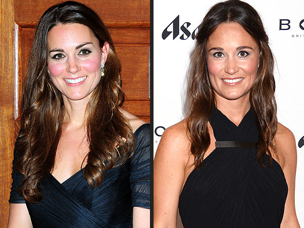 Kate and Pippa Middleton Get an Early Start on Their New Year's Celebrations