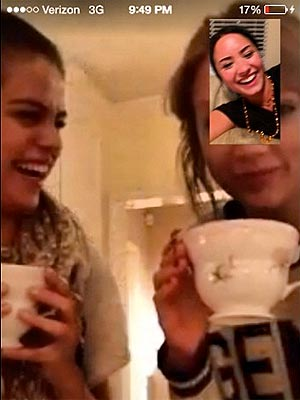 Selena Gomez Shares Tea Time with Taylor Swift and Demi Lovato