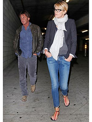 Charlize Theron and Sean Penn Spend a Cozy Weekend in L.A.