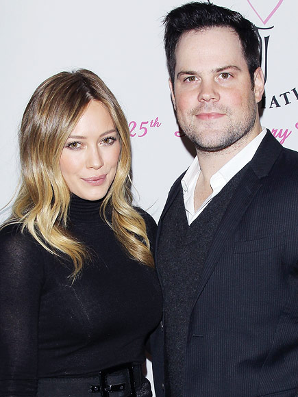 Hilary Duff ex mike comrie
