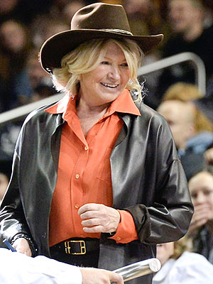 Martha Stewart Cheers on the Cowboys at the PBR in N.Y.C.