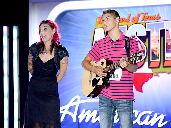 American Idol: The Son of Season One's Nikki McKibbin Gets a Ticket to Hollywood