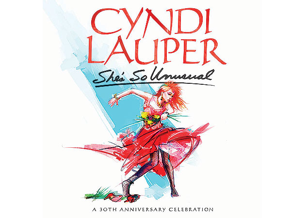 Cyndi Lauper Announces Release of 30th Anniversary Edition of Debut Album She's So Unusual