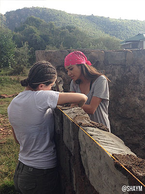 Pretty Little Liars Star Shay Mitchell in Africa: Photos