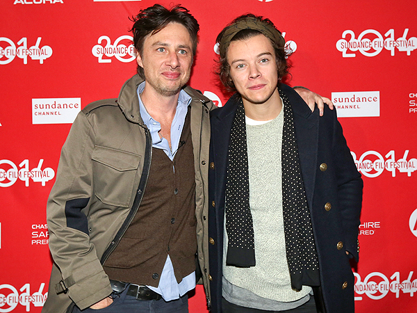 Harry Styles Tears Up at Pal Zach Braff's Sundance Film