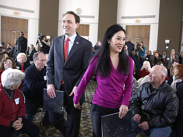 Michelle Kwan's Husband Clay Pell Running for Rhode Island Governor