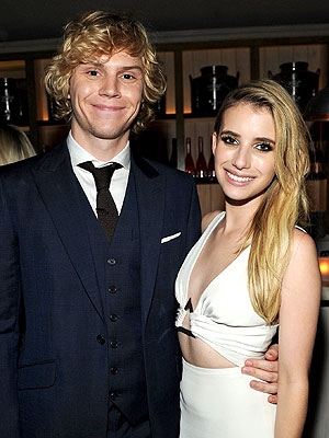 Emma Roberts on Fiancé Evan Peters: He 'Thought I Was So Weird'