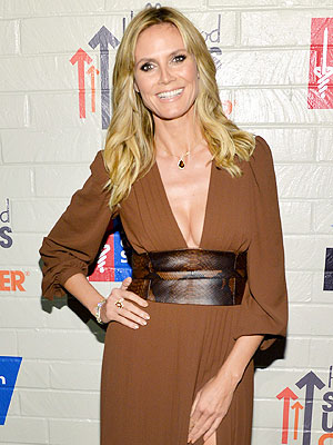 Heidi Klum Steps Out Post-Split