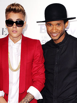 Usher Joins Justin Bieber in Panama