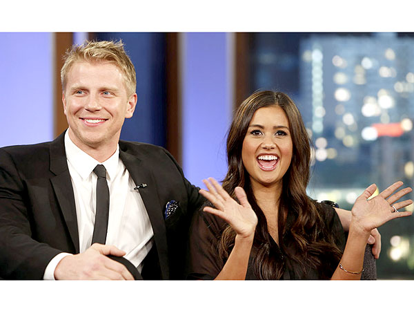 Jimmy Kimmel Grills Sean Lowe and Catherine Giudici on Abstinence Claims: Video