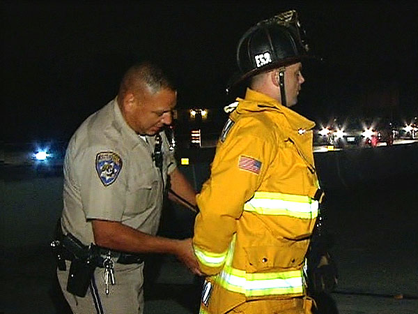 Police Officer Handcuffs Fireman for Refusing to Move His Engine