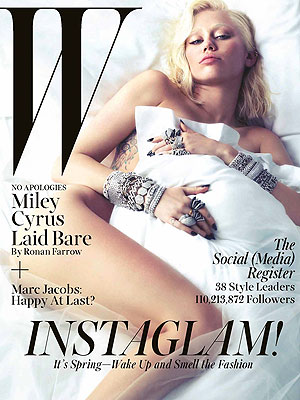 Miley Cyrus in W Magazine: It's 'Cool' if No One Buys My Album