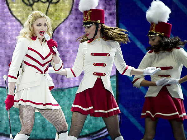 Why Madonna Won't Work Out to Her Own Music