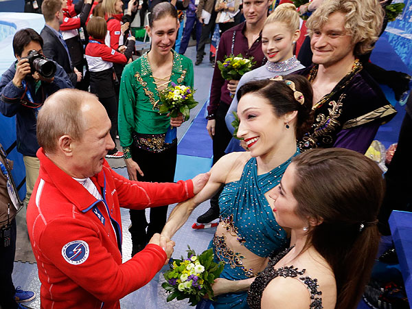 USA Ice Skaters Reflect on Their 'Kind of Neat' Encounter with President Putin
