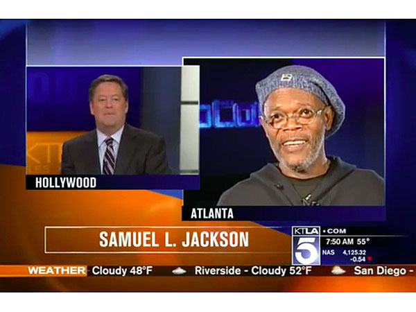Samuel L. Jackson Scolds Reporter for Confusing Him with Laurence Fishburne