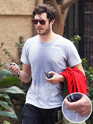 Adam Brody Wears Wedding Ring After Marrying Leighton Meester