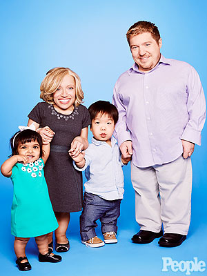 , Dr. Jen Arnold and Bill Klein and their children, Will and Zoey