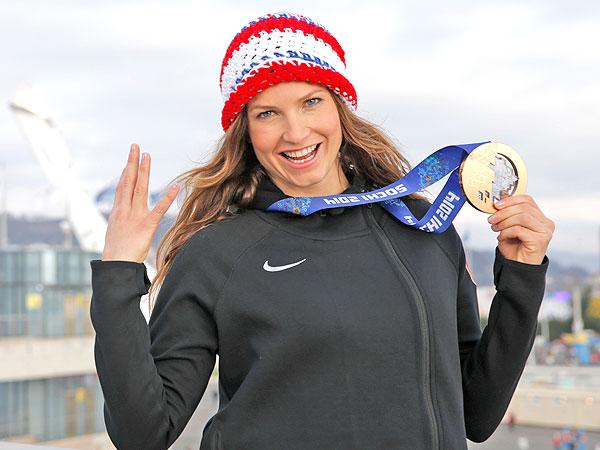 Julia Mancuso Went Surfing in Sochi