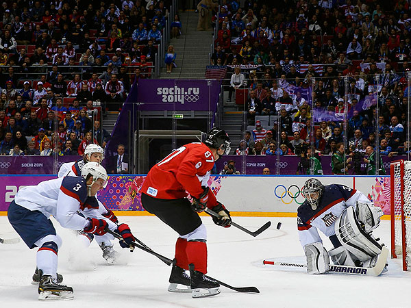 Canada Defeats U.S. in Olympic Men's Hockey Semi-Finals