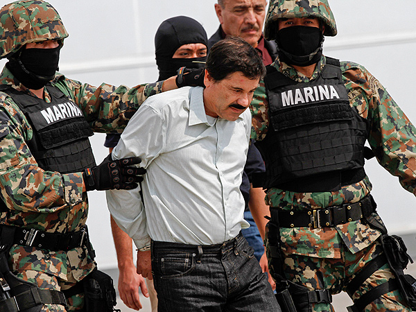 'El Chapo' Guzman, Most-Wanted Drug Lord, Captured in Mexico