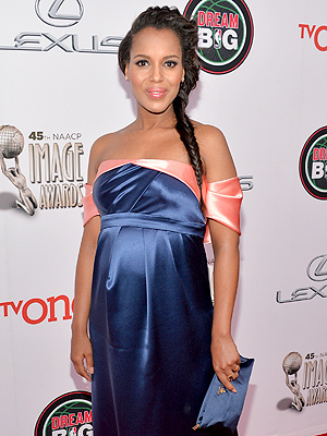 Kerry Washington Celebrates Baby Shower