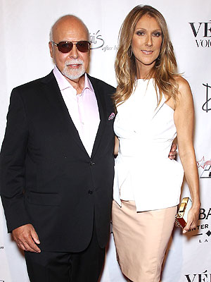 Céline Dion's Husband René Angélil Recuperating After Second Battle with Throat Cancer