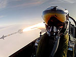 Wildest Selfie Ever? Watch Fighter Pilot Take Photo as He Launches Missile