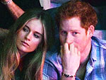 Prince Harry's Girlfriend Attends Her First Official Function with Him