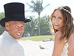 See Stacy Keibler's Wedding Photos!