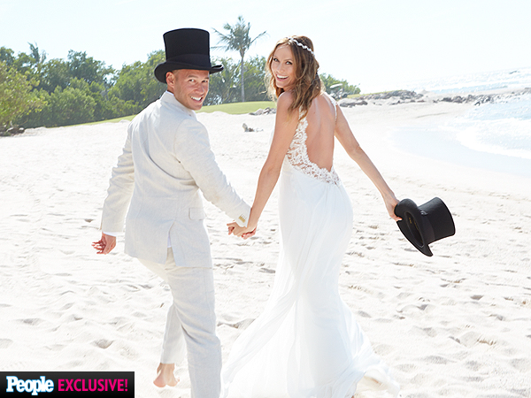 Stacy Keibler Marries Jared Pobre: Exclusive Photos