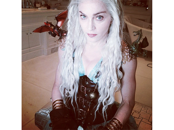 Madonna Purim Costume: Game of Thrones Mother of Dragons