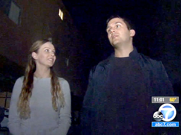 California Couple Catch Falling Child with Mattress
