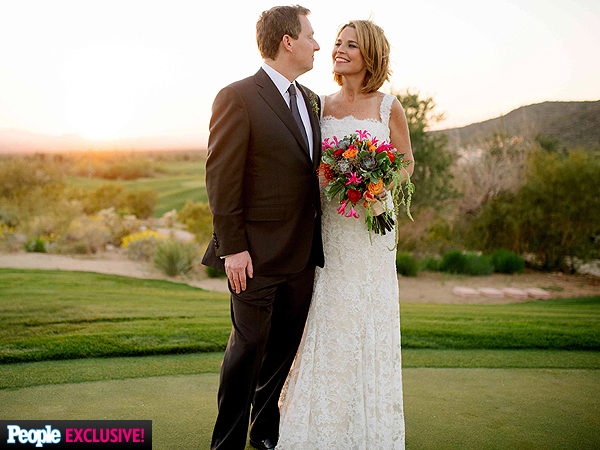Savannah Guthrie Wedding Had Sentimental Favors