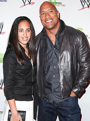Dwayne 'The Rock' Johnson's Daughter Uses His Old Wrestling Insults on Him