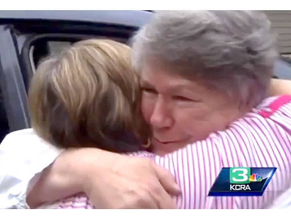 Two Sisters Reunite in California After 66 Years Apart