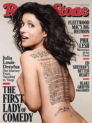 Julia Louis-Dreyfus, Stark Naked, Insists She's Not a Billionaire