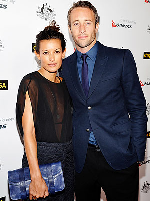 Alex O'Loughlin Marries Malia Jones
