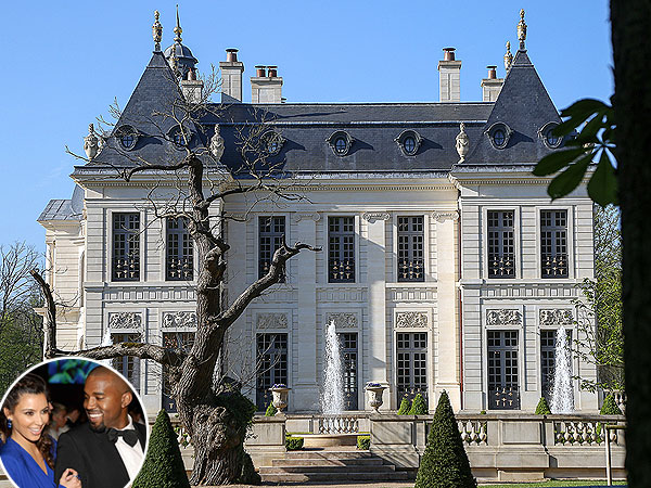 Kim Kardashian and Kanye West Wedding: Is This Chateau Their Venue?