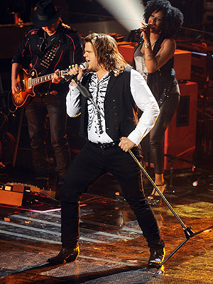 American Idol: Caleb Johnson Has the Moment of the Night