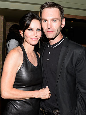 Courteney Cox on Working with Johnny McDaid: 'I Couldn't Be Happier'