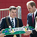 Prince George Receives His Own Skateboard in Australia | Kate Middleton, Prince William