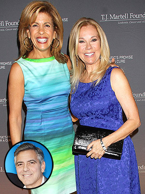 George Clooney Engaged: Kathie Lee and Hoda Kotb Are Not Excited