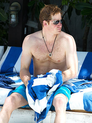 Prince Harry Goes Shirtless in Miami and Visits Graceland in Memphis with William