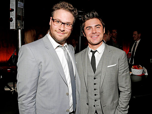 Zac Efron Proves Seth Rogen Wrong, Charms His Costar