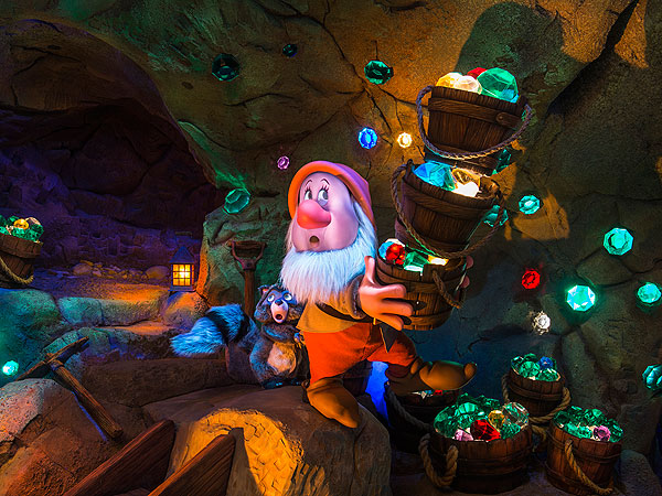 Seven Dwarfs Mine Train Opening at Walt Disney World