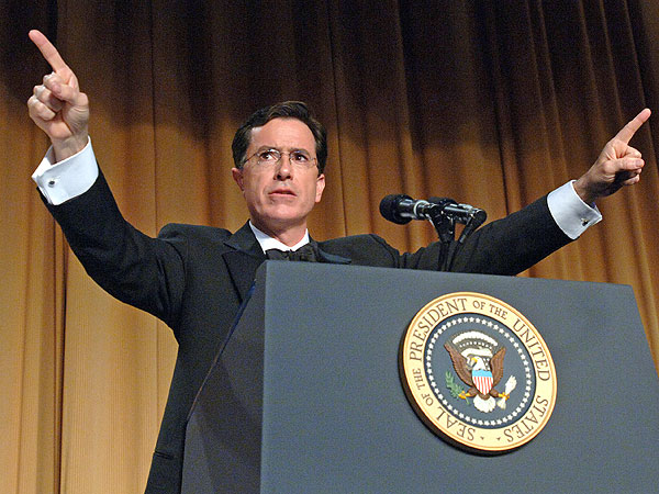 Stephen Colbert: Funniest White House Correspondents' Dinner Hosts